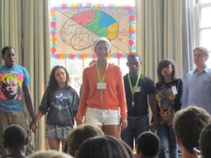 Academic Summer Camp Inspires Confidence as Students Speak Publicly About Their Experience