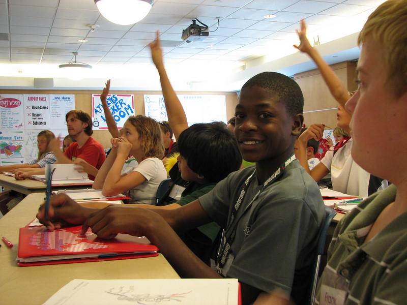 Students attend academic achievement camp